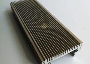 Aluminium Heatsink Extrusion 6061 6063 Anodized fonnov