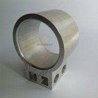 Custom Aluminum Fabrication Square Hole Round Hole fonnov