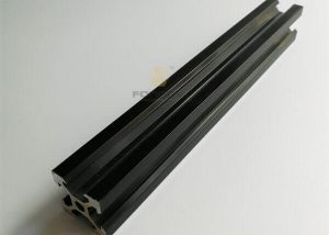 Black Anodised Aluminum 2020 V-Slot Extruded Profile fonnov