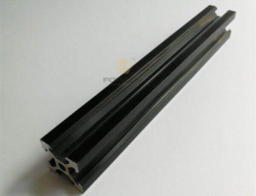Black Anodized Aluminum Profiles