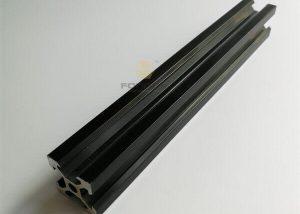 Black Anodized Aluminum 6063 Slot 2020 Extrusion fonnov