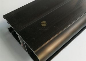 Dark Bronze Anodized Aluminum Extruded Profile 6063t5 fonnov