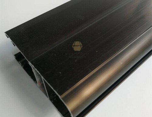 Bronze Anodized Aluminum Extruded Profiles