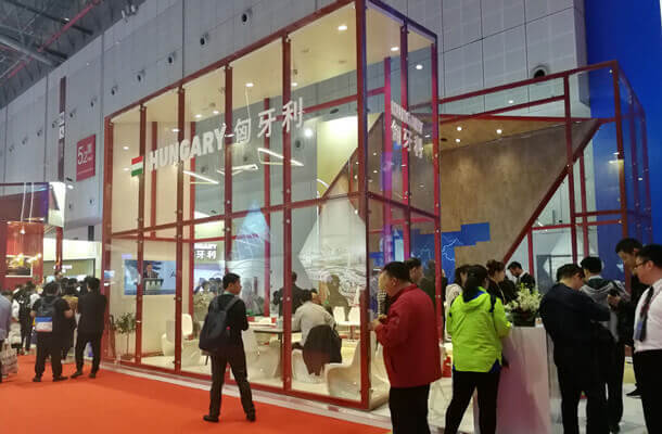 hungary pavilion china import expo - fonnov aluminium