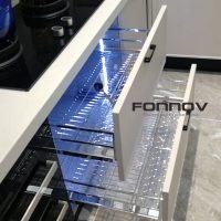 Aluminium Profile For Kitchen Anodising And Powder Coating-fonnov aluminium