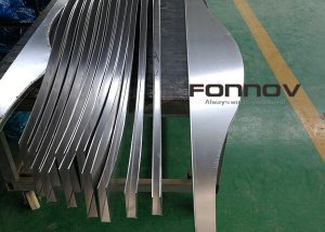 Curved Ceiling Custom Deisgn Powder Coating PVDF-fonnov aluminium