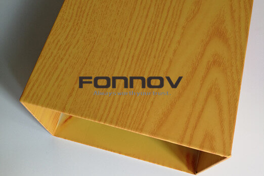 Faux Wood Finish Aluminum Ceilings And Claddings -FONNOV ALUMINIUM