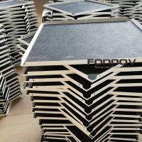 Metal Suspended Ceiling Tiles White Perforated 600mm-fonnov aluminium