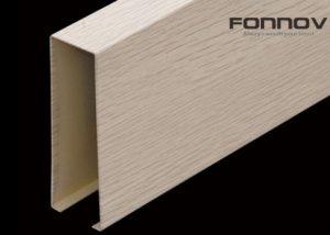 aluminum ceiling baffle -fonnov aluminium