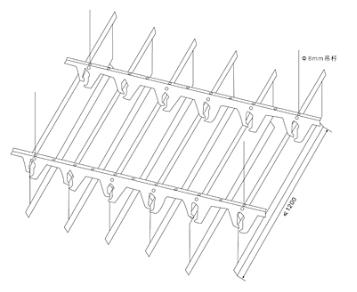 baffle ceiling installation - fonnov aluminium