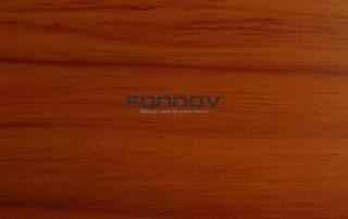 cherry wood grain aluminum - fonnov aluminium