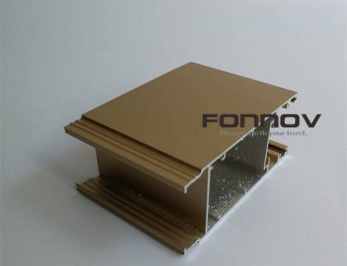 Fluorocarbon Coated Aluminum Profiles For Window