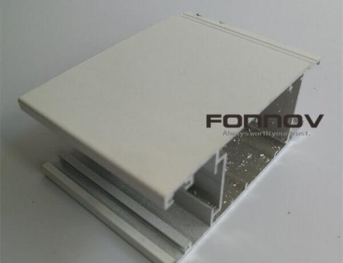 PVDF Aluminium Profiles For Windows