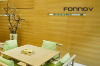 wood effect cladding - fonnov aluminium