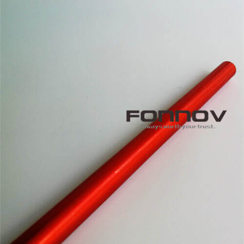 6000 series anodized tube ski pole - fonnov aluminium