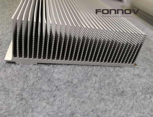 Extruded Aluminum Heatsink For LED Streetlight