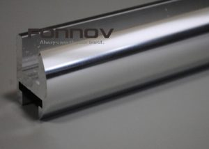 chrome aluminum shower enclosure profiles - fonnov aluminium