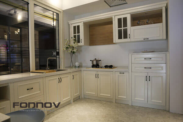 Fully Aluminum Kitchen Cabinets For Sale | FONNOV Aluminium