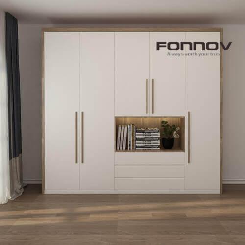 fully aluminum wardrobe - fonnov aluminium