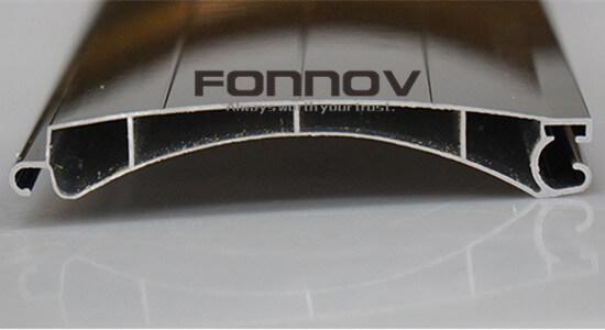 roller shutter slat -fonnov aluminium