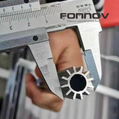 small hollow aluminum heatsink - fonnov aluminium