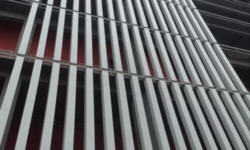 box sun louver tube extrusion - fonnov aluminium