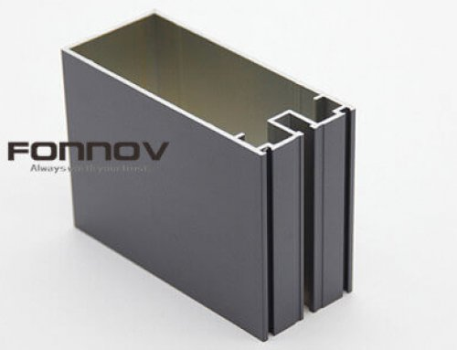 Glass Curtain Wall Aluminum With PVDF Finish