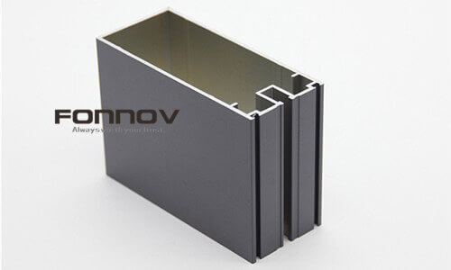 glass curtain wall aluminum extrusion - fonnov aluminium