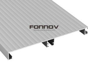 kitchen baseboard aluminum extrusion- fonnov aluminium
