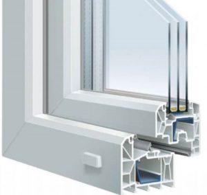 UPVC plastic window frame-fonnov aluminium1
