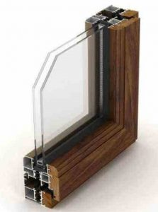 aluminium wood composite window frame -fonnov aluminium