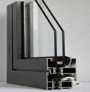 aluminum thermal break window frame-fonnov aluminium