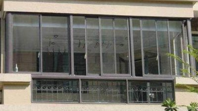 sliding window - fonnov aluminium