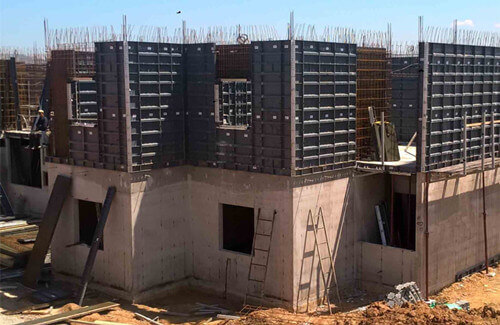 aluminum formwork for building construction - fonnov aluminium