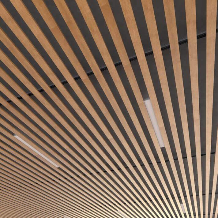baffle ceiling -fonnovaluminium