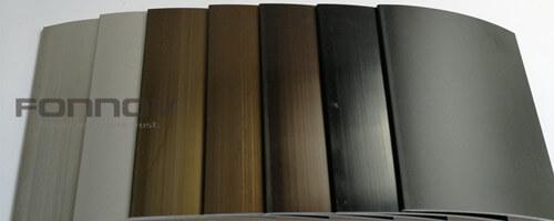 colour anodising -fonnov aluminium