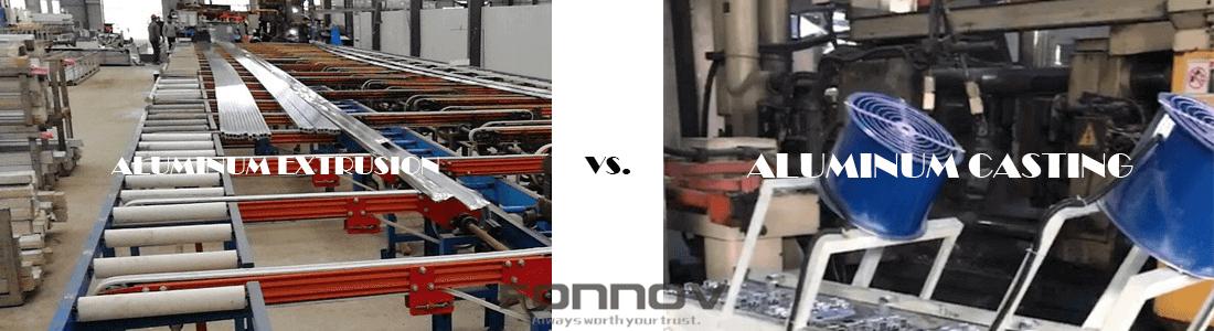 extrusion vs die casting-fonnov aluminium