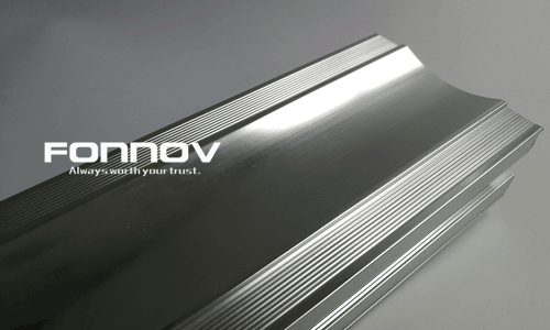 mirror polished aluminium profile-fonnov