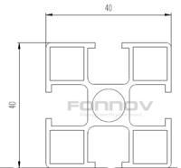 4040 aluminium extrusion-fonnov
