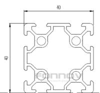 4040 aluminium profile-fonnov