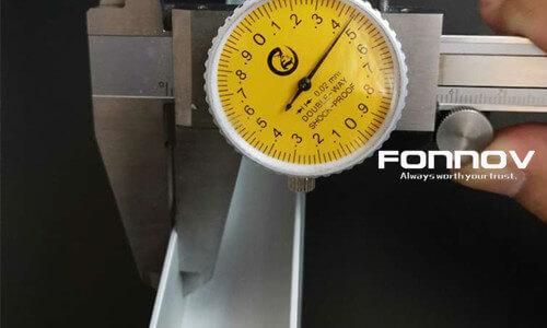 quality test-fonnov aluminium