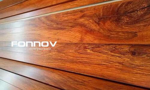 wood grain finish aluminium profiles-fonnov