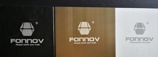 laser marking-fonnov aluminium