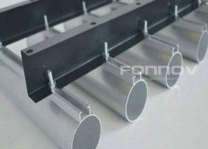 metal baffle aluminum tube-fonnov aluminium