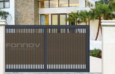 aluminium fencing gate-fonnov