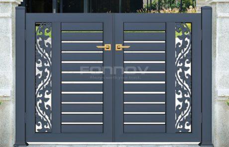 aluminum fencing gate-fonnovaluminium