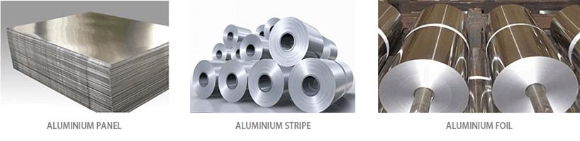 aluminum panel stripe foil-fonnovaluminium