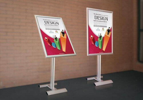 aluminum profiles for poster stand-fonnovaluminium