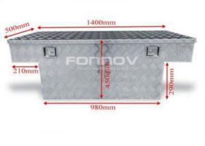 pickup truck crossover tool box-fonnovaluminium
